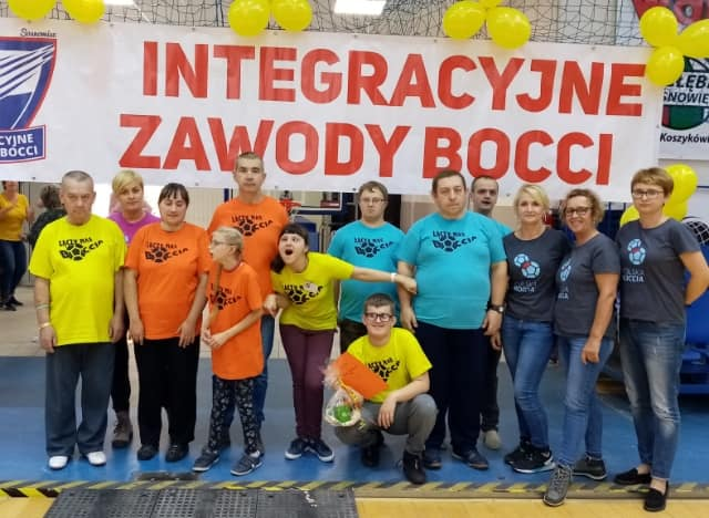 Integracyjne Zawody Bocci w Sosnowcu